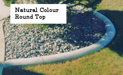 Profile- Round Top Base-  natural  Release-  natural Stamp- none