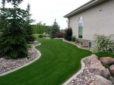 Beauty is in the lines you design with our help, not the fanciness or expense of the curb